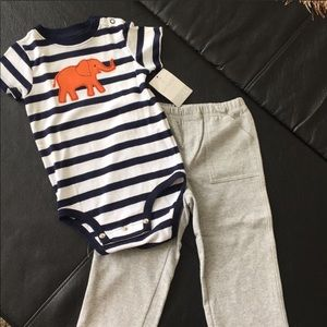 24 months onesie and pants outfit